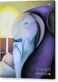 The Hermit Acrylic Print by Tracey Levine