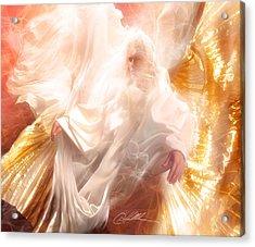The Holy Spirit Acrylic Print by Danny  Hahlbohm