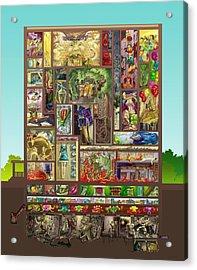 The House Acrylic Print by Augustinas Raginskis