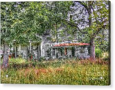 The House In The Woods Acrylic Print by Dan Stone
