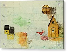 The House Next Door - C04a Acrylic Print by Variance Collections