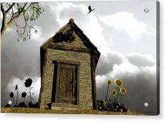 The House Of Light And Shadow Acrylic Print by Cynthia Decker