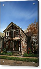 The House Of Soul At The Heidelberg Project - Detroit Michigan Acrylic Print by Gordon Dean II