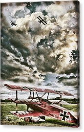 The Hunter Acrylic Print by Peter Chilelli