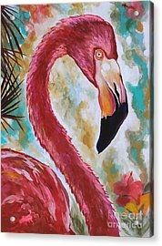 The Imposter Acrylic Print by Eve  Wheeler