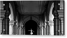 The Incredible Lightness Of Being Acrylic Print by Larry Butterworth