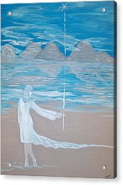 The Infinite Voyage Messenger Acrylic Print by Adriana Garces