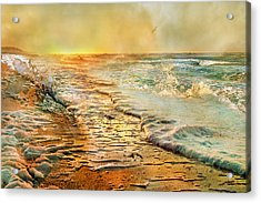 The Inspirational Sunrise Acrylic Print by Betsy Knapp