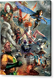The Invincibles Acrylic Print by Ryan Barger