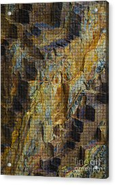 The Jagged Rock Of Vesuvius Acrylic Print by Graham Foulkes
