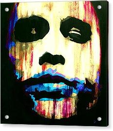 The Joker Why So Serious Acrylic Print by Brad Jensen