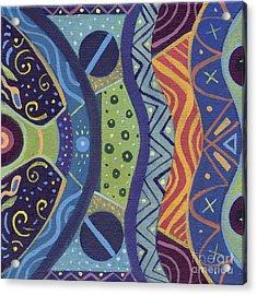 The Joy Of Design X X I I I Part 2 Acrylic Print by Helena Tiainen