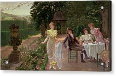 The Judgement Of Paris Acrylic Print by Hermann Koch