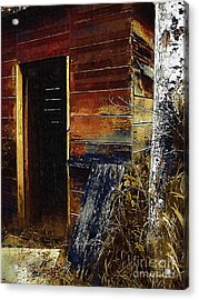 The Killing Shed Acrylic Print by RC DeWinter