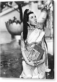 The King And I, Rita Moreno, 1955. Tm & Acrylic Print by Everett