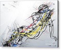 The King David  Acrylic Print by Mark Ashkenazi