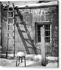 The Ladder Acrylic Print by Stephanus Le Roux