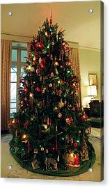The Lane's Christmas Tree Acrylic Print by Harold E McCray