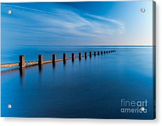 The Last Posts Acrylic Print by Adrian Evans