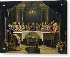 The Last Supper Acrylic Print by Jean Baptiste de Champaigne
