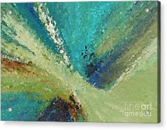 The Law Of Opposition. Revelation 2 7 Acrylic Print by Mark Lawrence