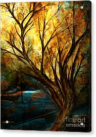 The Light Has Come Acrylic Print by Shevon Johnson