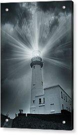 The Light House Acrylic Print by Svetlana Sewell