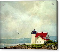 The Lighthouse Acrylic Print by Darren Fisher