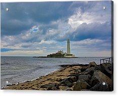 The Lighthouse Acrylic Print by Trevor Kersley