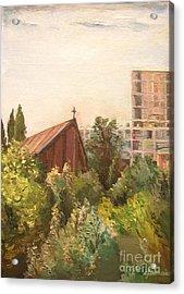 The Little Church Acrylic Print by Christian Simonian
