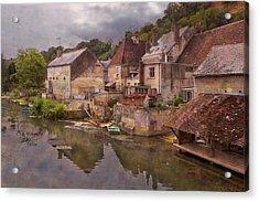 The Loir River Acrylic Print by Debra and Dave Vanderlaan