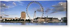 The London Eye Acrylic Print by Rod McLean