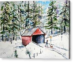 The Long Way Home Acrylic Print by Brian Degnon
