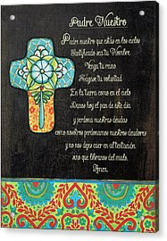 The Lord's Prayer Acrylic Print by Jo Moulton