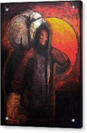 The Lost Sheep Acrylic Print by Daniel Bonnell