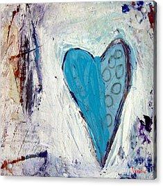 The Love Inside Acrylic Print by Venus