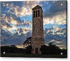 The Luray Singing Tower Acrylic Print by Lara Ellis