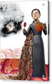 The Maddening Wind Acrylic Print by Maria Jesus Hernandez