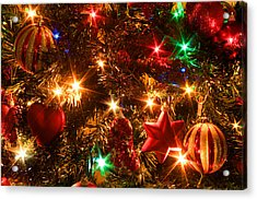 The Magic Of Christmas Acrylic Print by Julia Fine Art And Photography