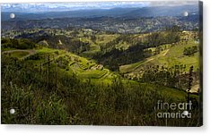 The Magnificent View From Cojitambo Acrylic Print by Al Bourassa