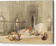 The Mausoleum Of Sultan Mohmed, Brusa Acrylic Print by Thomas Allom