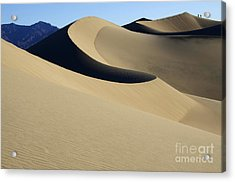 The Mesquite Dunes Of California Acrylic Print by Bob Christopher