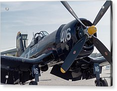 The Mighty Corsair Acrylic Print by Brandon Hussey