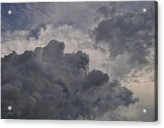 The Mighty Hand Of God Acrylic Print by Paulette B Wright