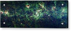 The Milky Way Acrylic Print by Adam Romanowicz