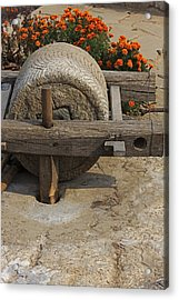 The Mill Stone Acrylic Print by Qing