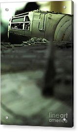 The Millennium Falcon Acrylic Print by Micah May