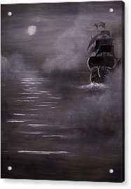 The Mist Acrylic Print by Eugene Budden