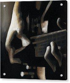 The Moment Acrylic Print by Natasha Denger