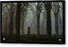 The Moment... Acrylic Print by Tim Fillingim